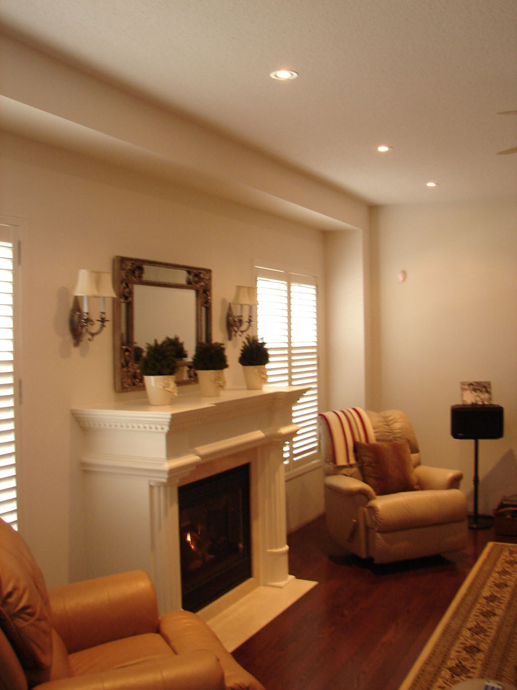 Samples of works by vicamp electrical services for Living room 3